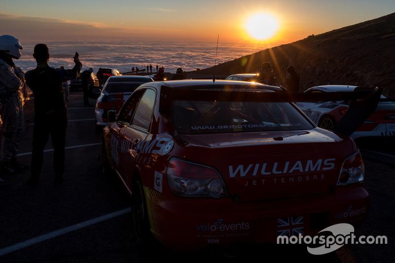 #555 Chris Rimmer, Subaru Impreza