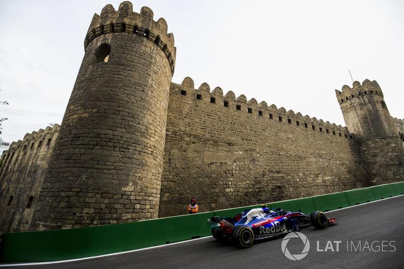 Pierre Gasly, Toro Rosso STR13 Honda