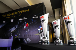 Techeetah trophies