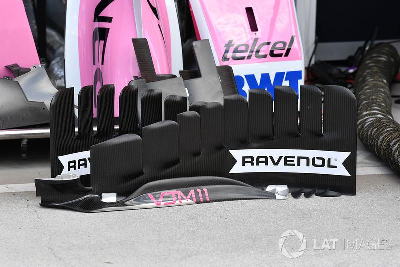 Боковой дефлектор Sahara Force India F1 VJM11