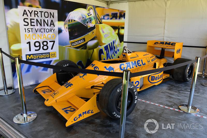 Lotus 99T Айртона Сенни