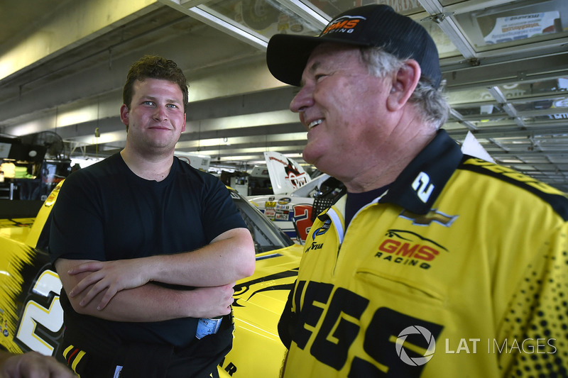 Cody Coughlin, GMS Racing, Chevrolet Silverado Jeg's.com and Jerry Baxter
