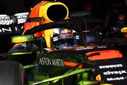 Daniel Ricciardo, Red Bull Racing RB14 with aero paint