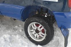 Спортивний шип і підвіска на Chevrolet Niva Дениса Татарка та Іллі Пономаренко