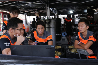 Tomoki Nojiri, Takuya Izawa, Autobacs Racing Team Aguri