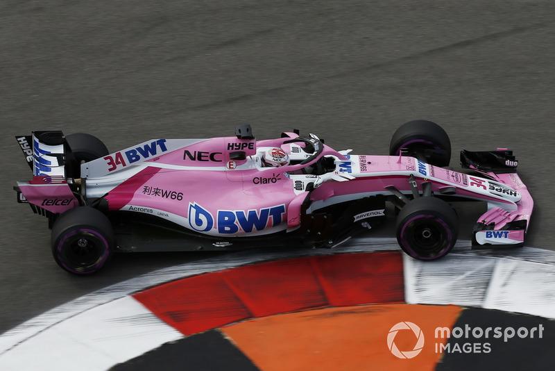 Nicholas Latifi était au volant de la Force India