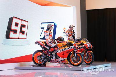 Repsol Honda Team bemutató