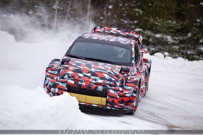 Toyota Yaris WRC 2021 test