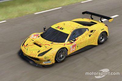 Presentazione della livrea JMW Motorsport