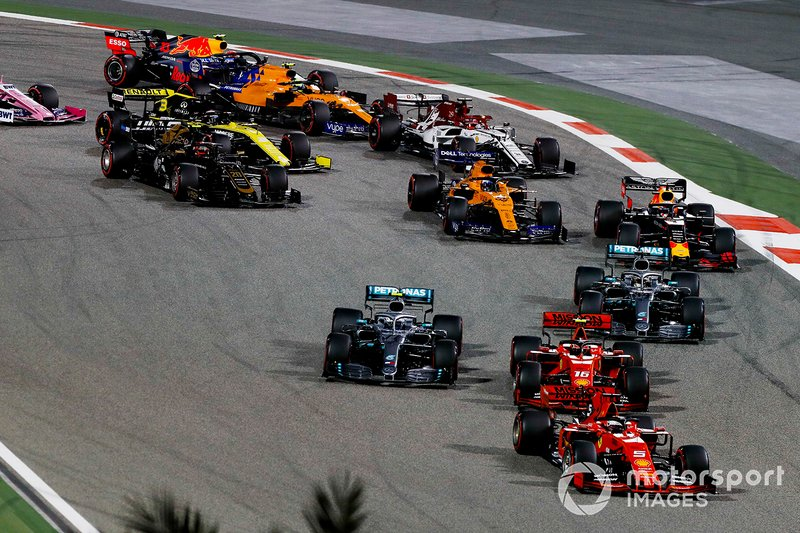 Bahrain GP start