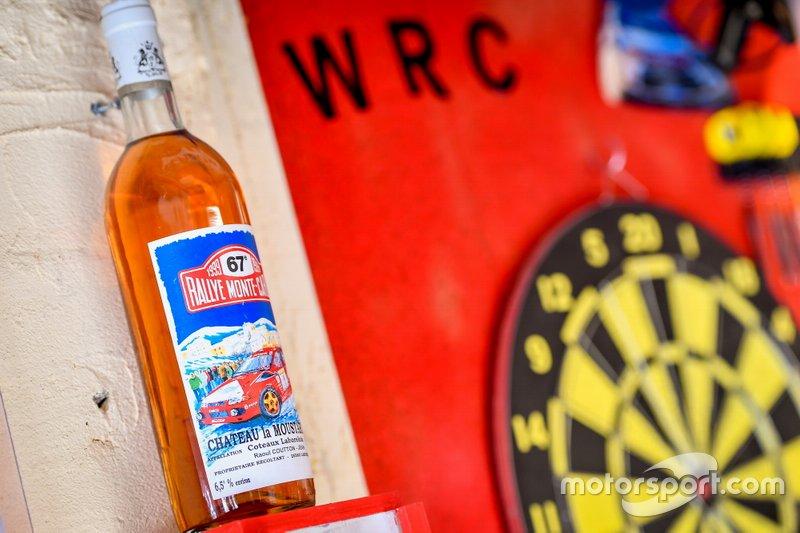 Rally Monte Carlo botella