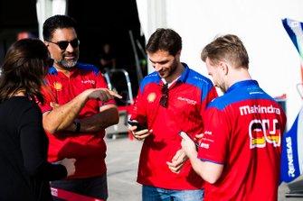 Dilbagh Gill, Team Principal, Mahindra Racing, Jérôme d'Ambrosio, Mahindra Racing, M5 Electro, Nick Heidfeld