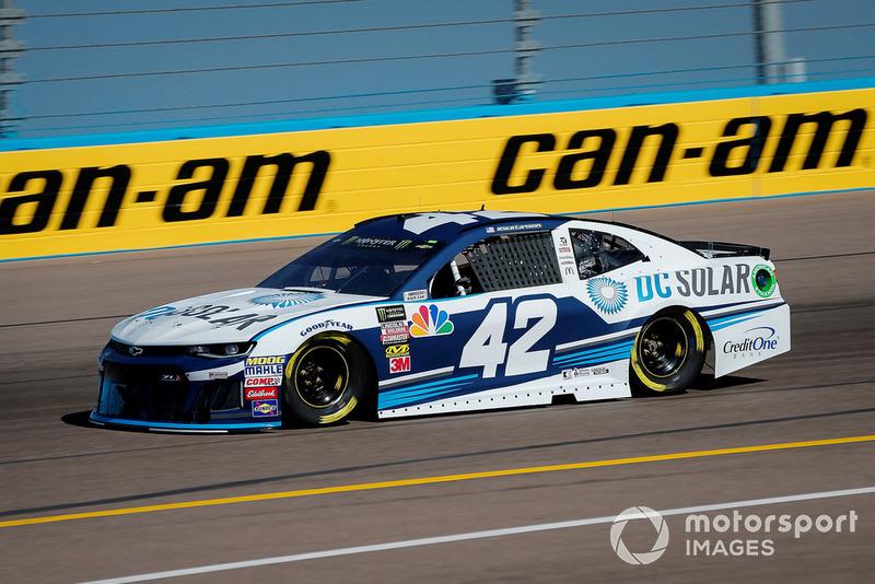 8. Kyle Larson, Chip Ganassi Racing, Chevrolet Camaro DC Solar