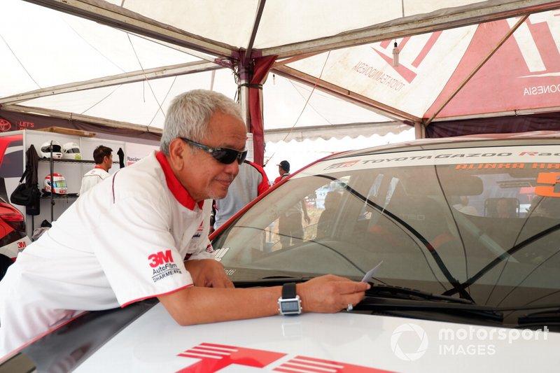 Memet Djumhana, General Manager Toyota Team Indonesia