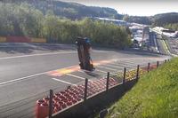 El coche SMP Racing BR Engineering BR1 número 17: Stéphane Sarrazin, Egor Orudzhev, Matevos Isaakyan, accidentado en Spa