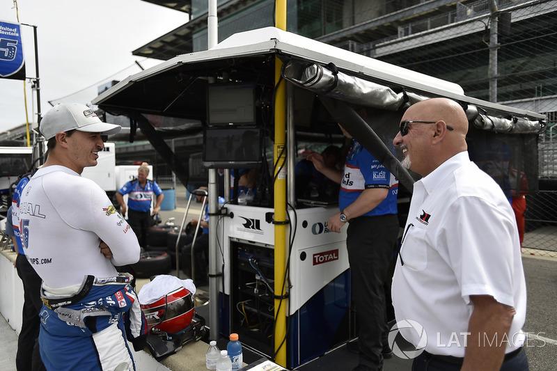 Bobby Rahal, Graham Rahal, Rahal Letterman Lanigan Racing Honda