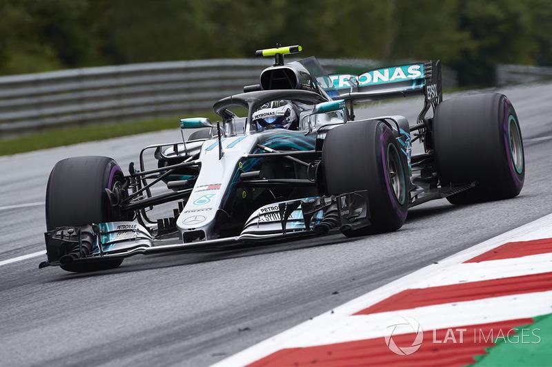 Ausfall: Valtteri Bottas, Mercedes AMG F1 W09