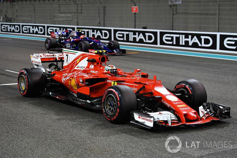Kimi Raikkonen, Ferrari: 5