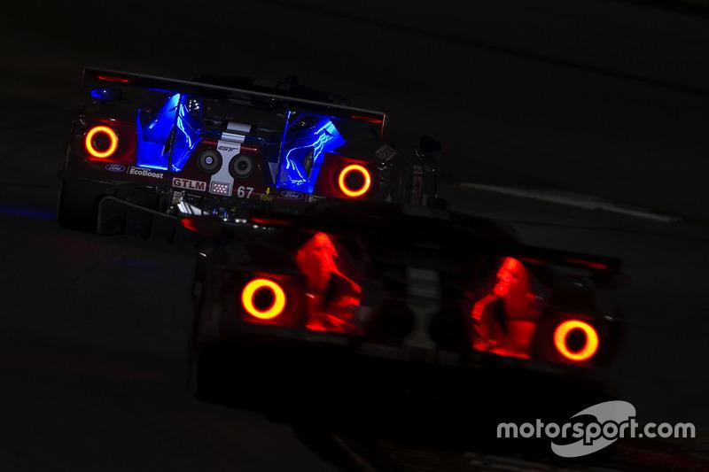 9. #67 Chip Ganassi Racing Ford GT, GTLM: Райан Бріско, Річард Вестбрук, Скотт Діксон, #66 Chip Ganassi Racing Ford GT, GTLM: Дірк Мюллер, Джоі Хенд, Себастьян Бурде