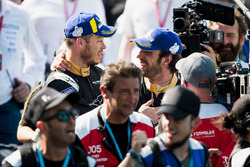 Jean-Eric Vergne, Techeetah, Andre Lotterer, Techeetah make up the first 1st 2nd finsih in Formula E history