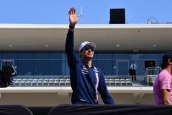 Esteban Ocon, Sahara Force India F1 lors de la parade des pilotes