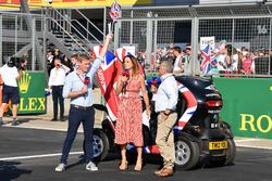 Simon Lazenby, Sky TV, Natalie Pinkham, Sky TV and Johnny Herbert, Sky TV