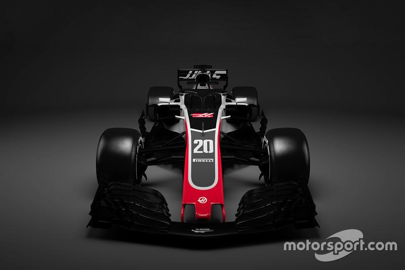 فورمولا 1 سيارة هاس 2018