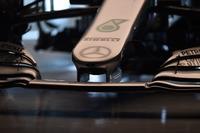 تفاصيل أنف سيارة مرسيدس دبليو09