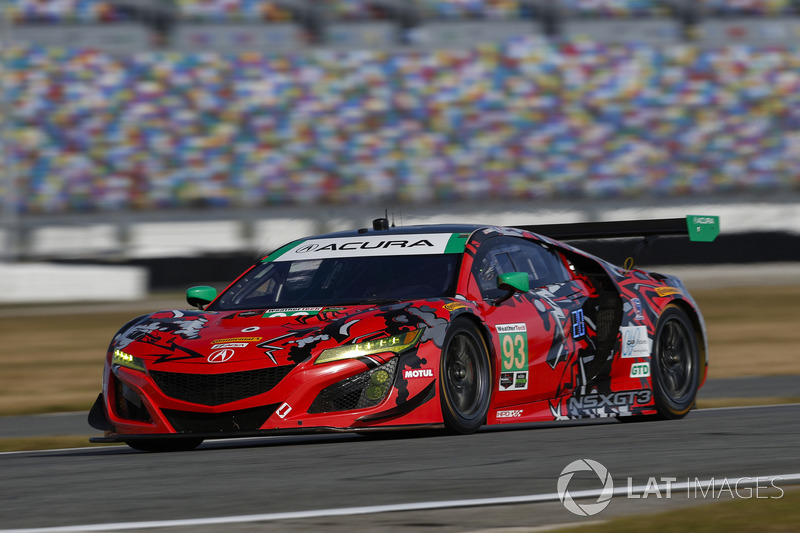 45.- #93 Michael Shank Racing Acura NSX, GTD: Lawson Aschenbach, Justin Marks, Mario Farnbacher, Côme Ledogar