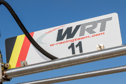 Audi Sport Team WRT team signage