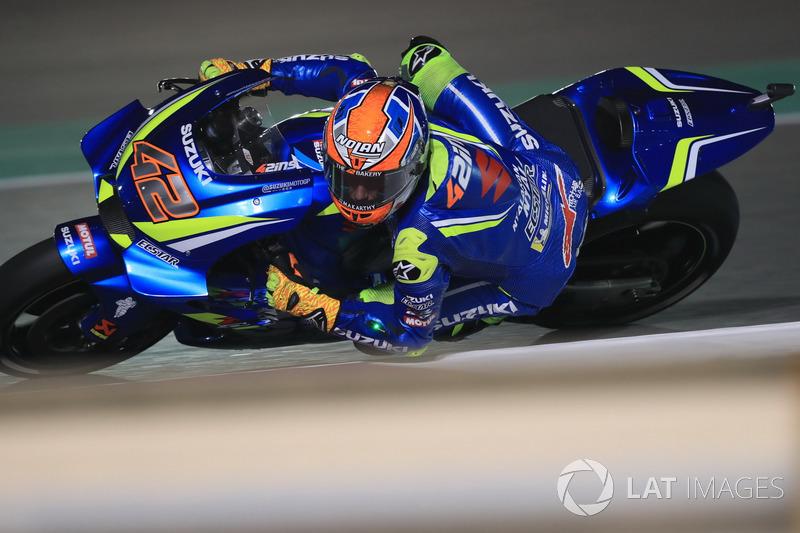 6. Alex Rins, Team Suzuki MotoGP