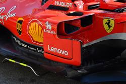 Ferrari SF71H, deviatore di flusso