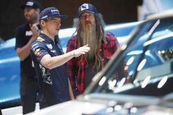Max Verstappen, Red Bull Racing con Magnus Walker