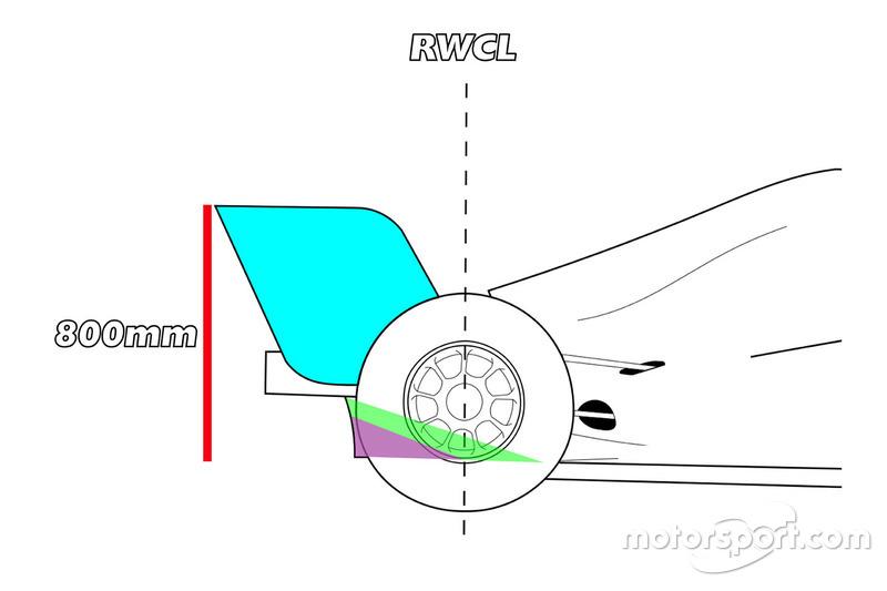 Vista laterale del diffusore