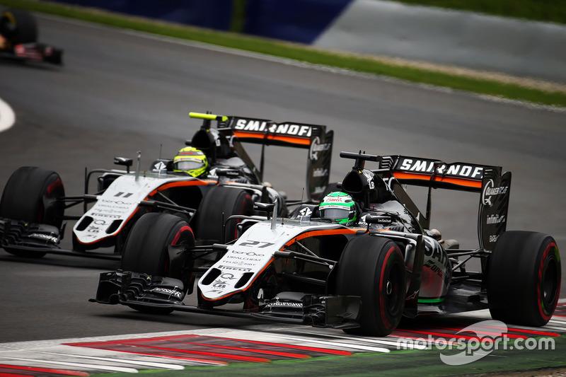 Nico Hulkenberg y Sergio Perez