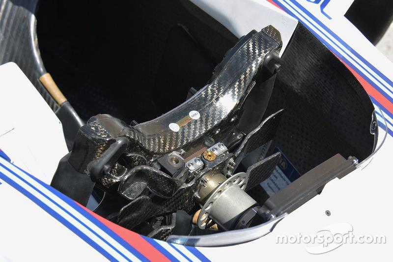 Williams FW38, Lenkrad