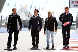 Фелипе Наср, Sauber изучает трассу с командой