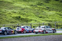 Race Battle-VW Lamando,Ford Focus,Audi A3