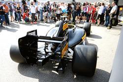 De demonstratiewagen voor 2017 van Pirelli