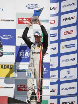 Podium: 3. Joel Eriksson, Motopark Dallara F312, Volkswagen