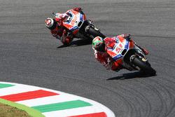 Michele Pirro, Ducati Team; Jorge Lorenzo, Ducati Team