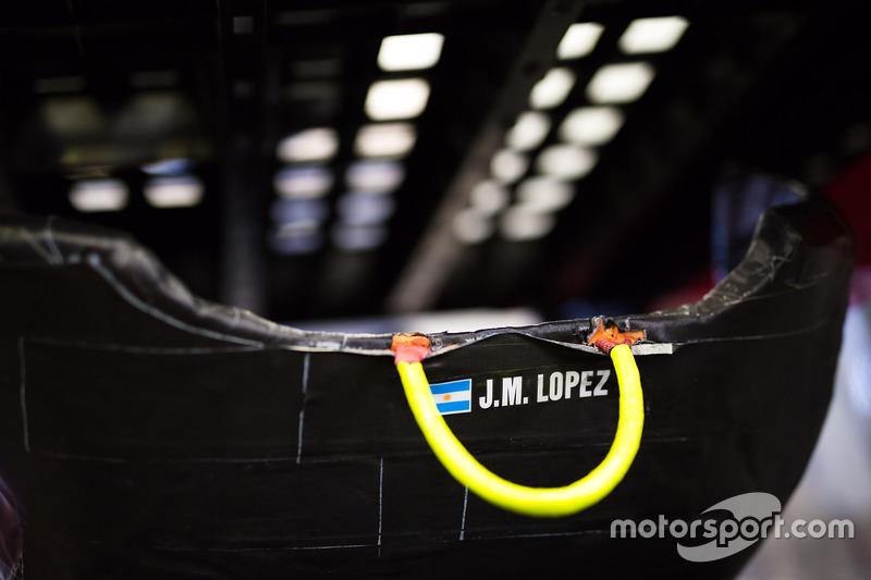 Сидіння Хосе Марія Лопеса, Toyota Gazoo Racing