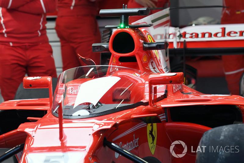 Ferrari SF70H, mit Cockpitschutz Shield