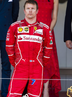 Second place Kimi Raikkonen, Ferrari