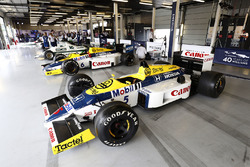 A Williams FW11 Honda, FW10 Honda, other classic machinery