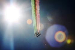 The Italian Air Force Aerobatic display team