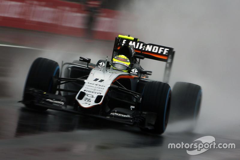 Cuarto lugar bajo la lluvia, GP de Brasil 2016