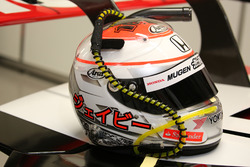 Helmet of Jenson Button, Team Mugen