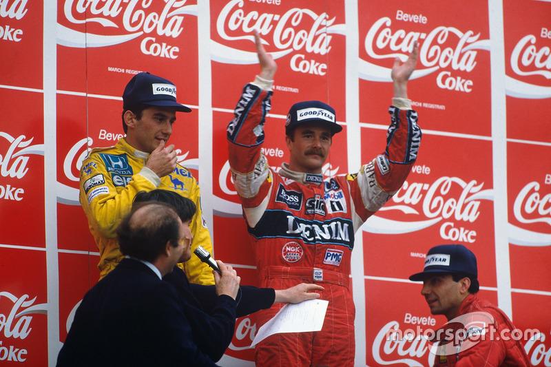 1987: Менселлу знову не фартить, Піке виграє