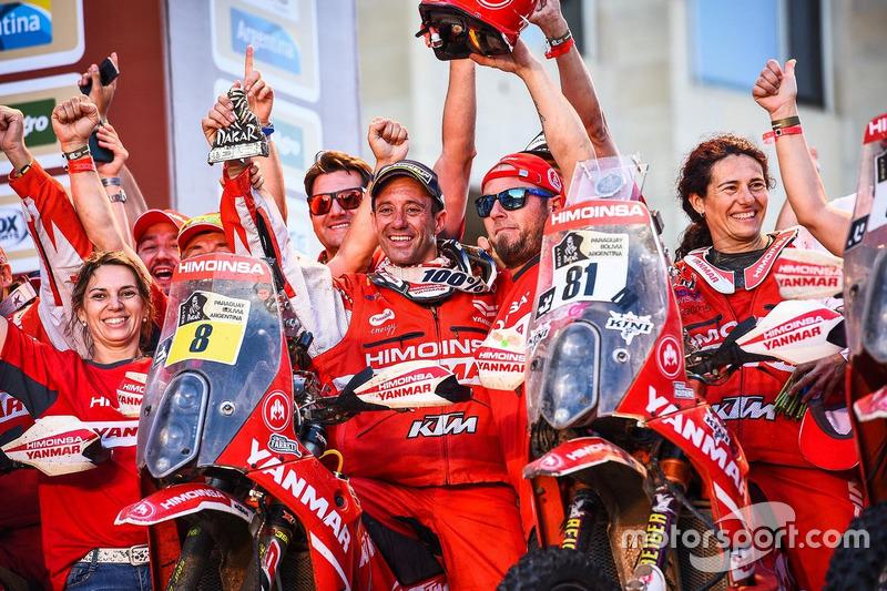 #8 Himoinsa Racing Team KTM: Gerard Farrés, #81 Himoinsa Racing Team KTM: Rosa Romero